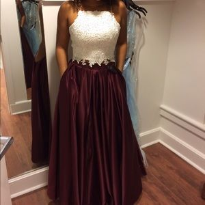 Prom Dress Size 3/4 Dave and Johnny